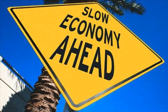 Slow economy ahead