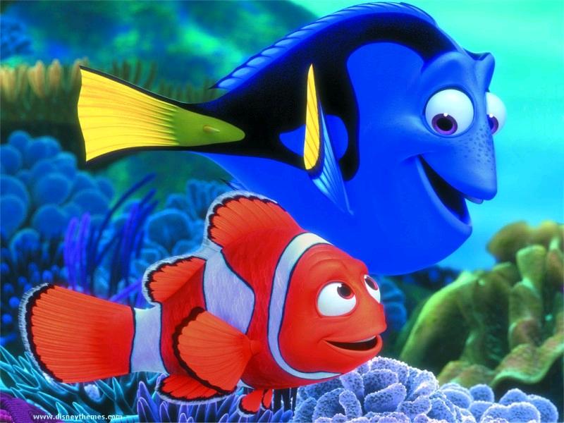 Air Action Clown Fish Aquarium Ornament Moving Nemo Fish Tank ...