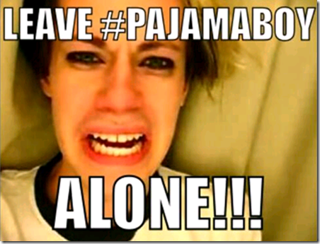 Lol Leftards Still Obsessing About Pajama Boy Being Ridiculed